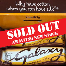 Galaxy Honeycomb Crisp Bars - box 24