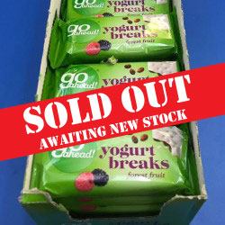 Go Ahead Yogurt Breaks Forest Fruit Twinpack 35g - pack 24