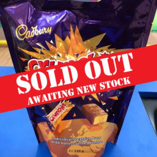Cadbury's Crunchie Bars - bag 330g